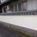 丸亀市:塀瓦を葺き替えました。